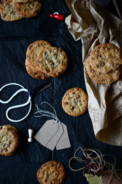 Cinnamon Chocolate Chip Pecan Cookies 3