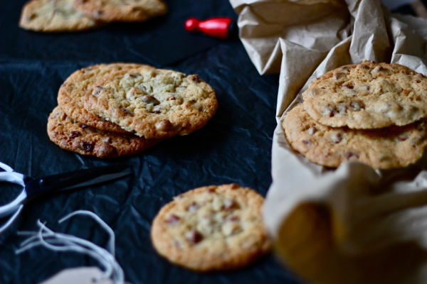 Cinnamon Chocolate Chip Pecan Cookies 4