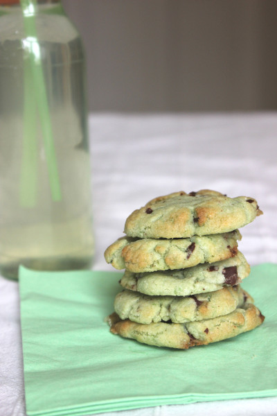 Mint Chocolate Cookies 3
