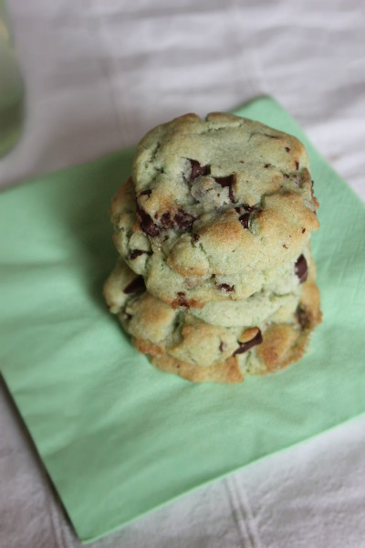Mint Chocolate Cookies 4